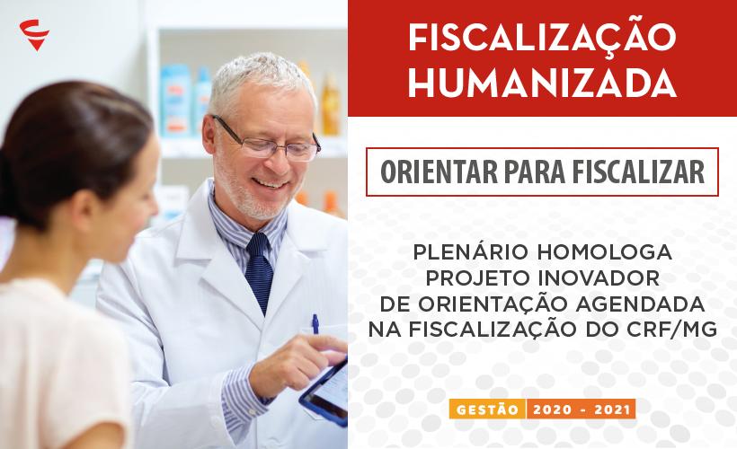 Plenário homologa projeto inovador de orientação agendada na Fiscalização do CRF/MG